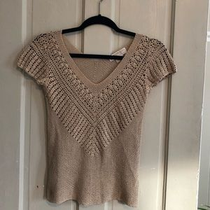 Michael Kors XS boho knit top